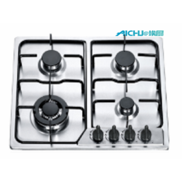 4 Burners Stainless Steel Cooktop