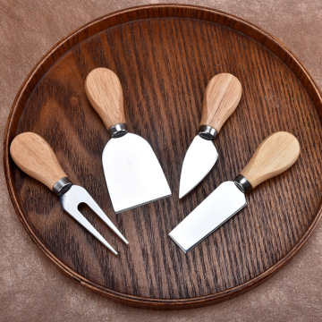 Wood Handle Cheese Tools