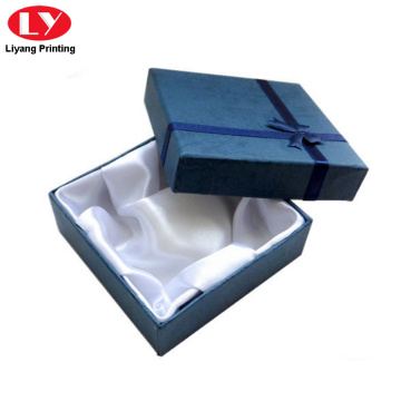 Paper material jewelry bracelet packaging box