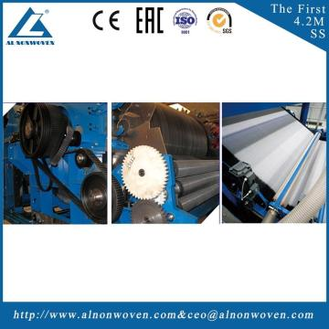 High quality ALSL-1550 roller carding machine price carding machine for cotton