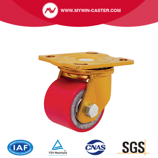 Swivel Plate Low Center Industrial Caster