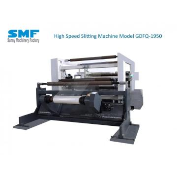 LLDPE SLITTING MACHINE WITH FRICTION SHAFT