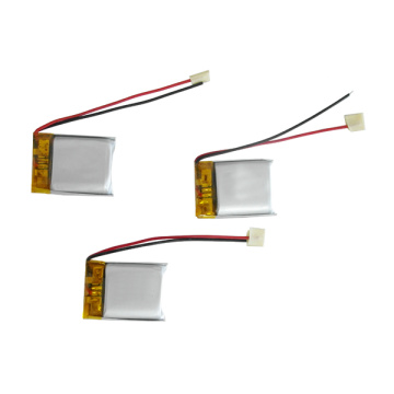 802025 3.7v 320mAh small lithium polymer battery