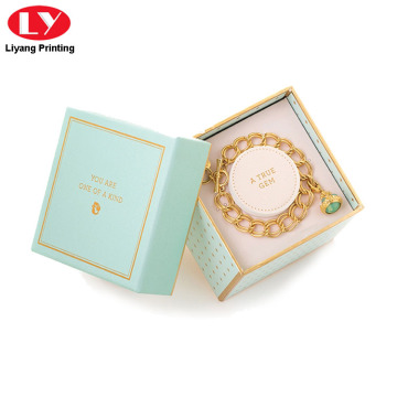 Bracelet Gift Box with Lid and Insert