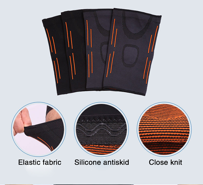 elastic fabric knee sleeve