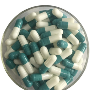 Hard Empty Gel Capsules Blue