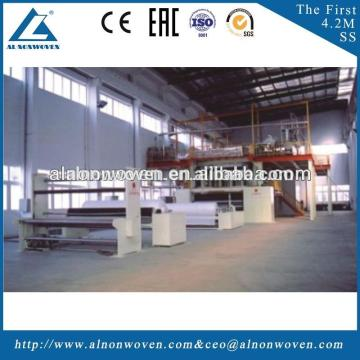 Brand New AL-1600 S PP Spunbond Nonwoven Fabric Machine with Great Price