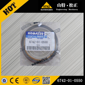 Komatsu parts genuine PC300-7 seal 6742-01-0550