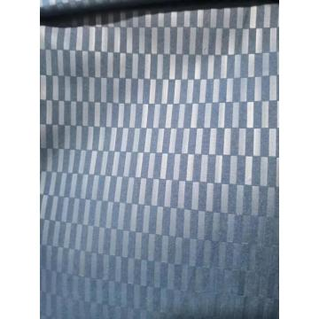 polyester blue emboss fabric