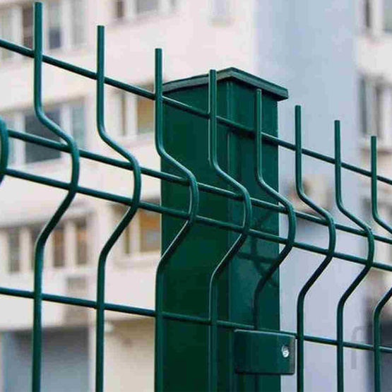 *4welded wire mesh fence panels