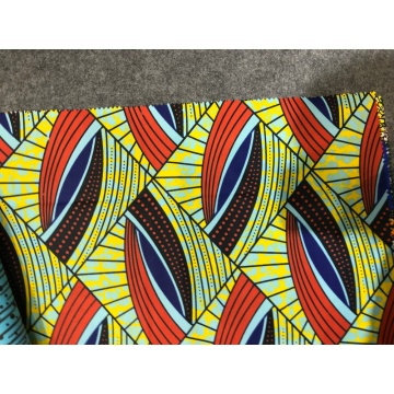 Wax Print Garments Polyester Fabric