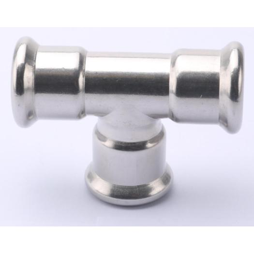 Stainless steel 304/316L equal tee