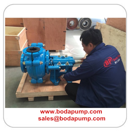 3-2 Rubber Lined Slurry Pump