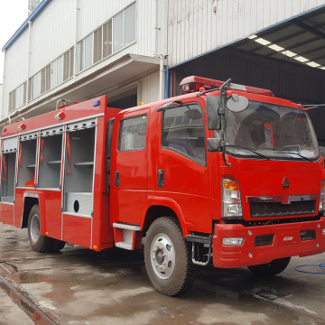 Sinotruk Howo Foam Tank Fire Fighting Truck