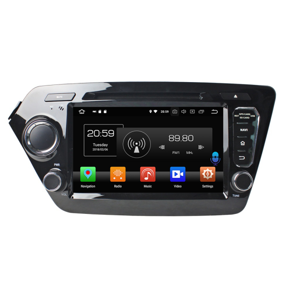 car radio dvd player for K2 RIO 2011-2012