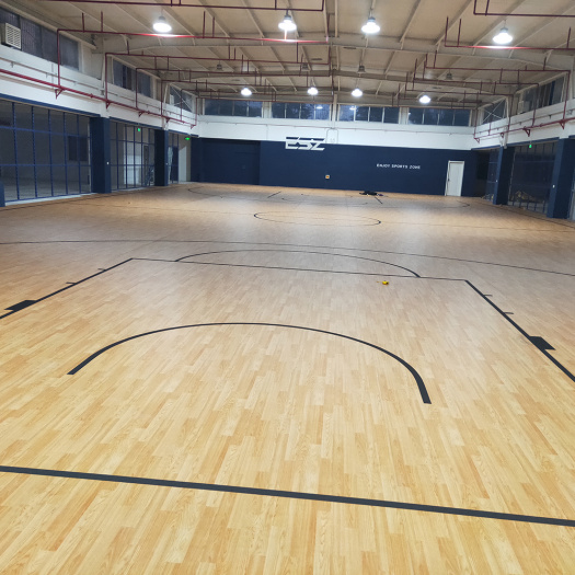 PVC sports floor for basketball court