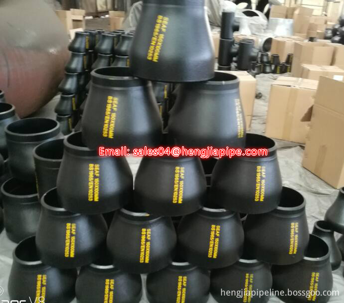 BS1965 seamless pipe reducer