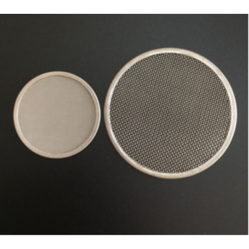 AISI316 Stainless Steel Wire Mesh Metal Filter Disc