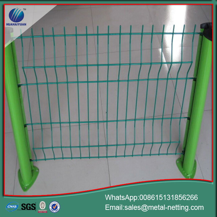 welded garden wire fence pvc coated fencing