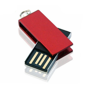 Mini Swivel Metal USB Flash Drive