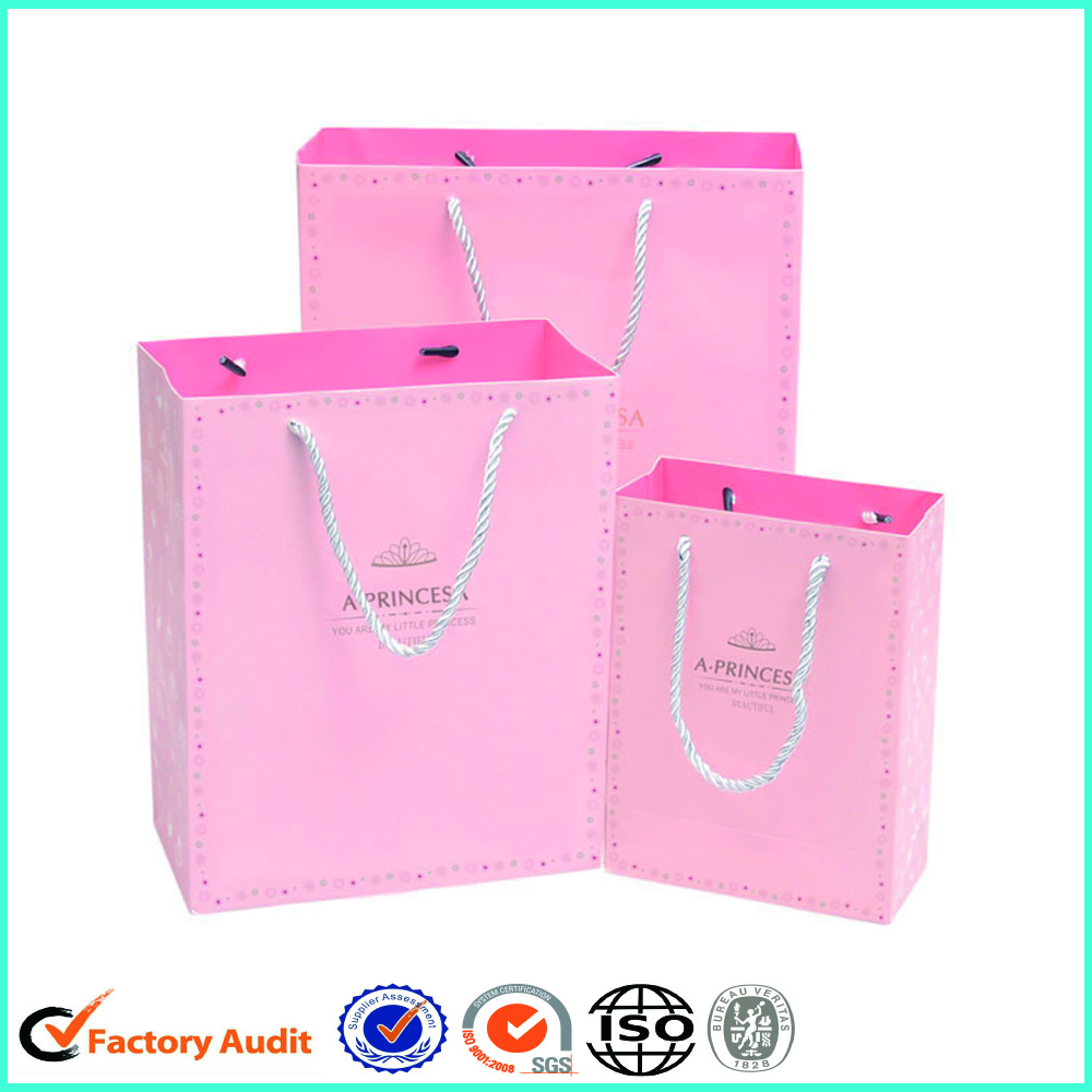Big Paper Gift Bags With Rope Handle