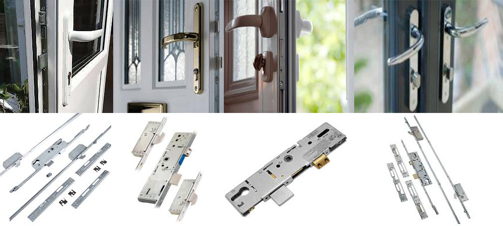 Door locks for upvc door