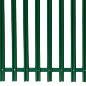 Galvanized triple point Palisade Metal Fence with cheap price