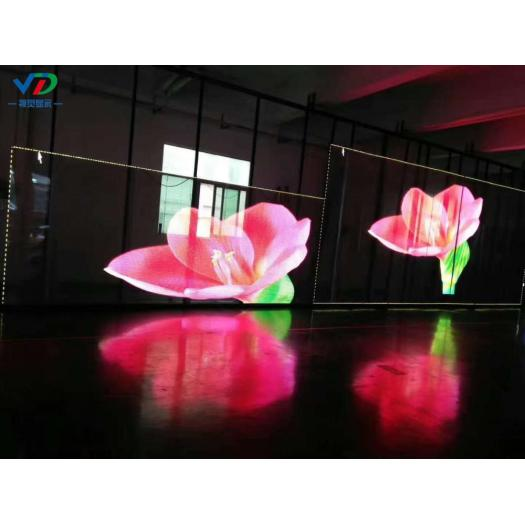 PH10.4-10.4Transparent screen with side lighting 1000x500mm