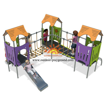 Backyard Outdoor Climbing Equipment Children Play Area