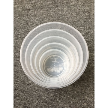 Round Food Grade Transparent Crisper