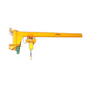 Workshop 3T Wall Mounted Jib Crane Design Drawing
