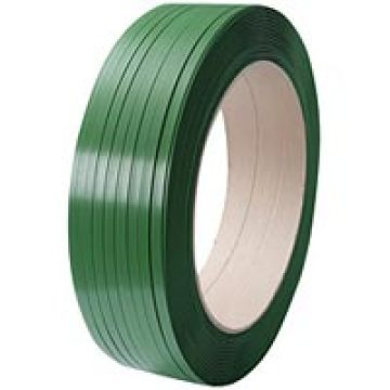 green heavy duty box plastic strapping