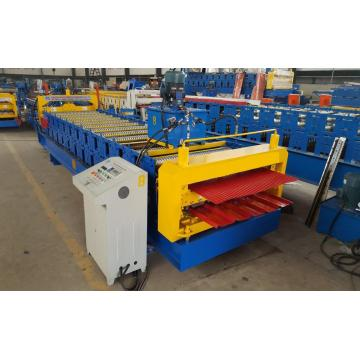 Double IBR and Corrugated Roofing Roll Forming Machine