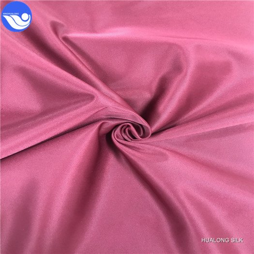 sportswear polyester tricot knitted super poly fabric
