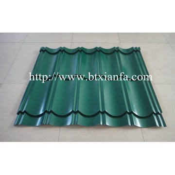 Glaze Tile Iron Roof Sheet Making Machine