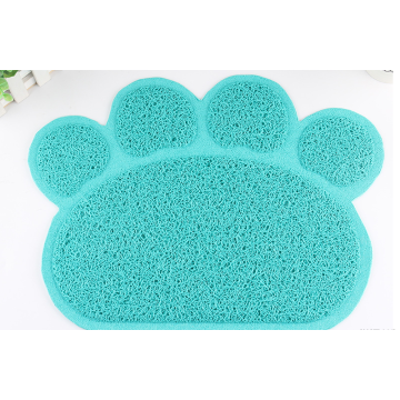 Anti slip dog bowl mat pet clean