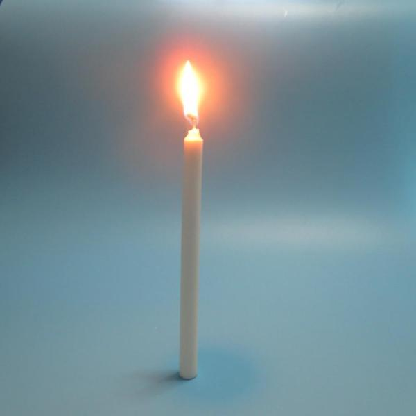 Daily Lighting Pure wax White Pillar Candle