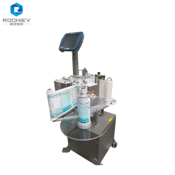 Automatic Vertical Drum Labeler