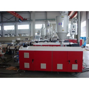 Extrusion line for PPR multilayers pipe production