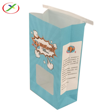 Customized window-opening paper bag with Logo
