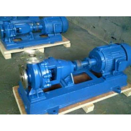 Plastic Self-Priming Chemical Pump