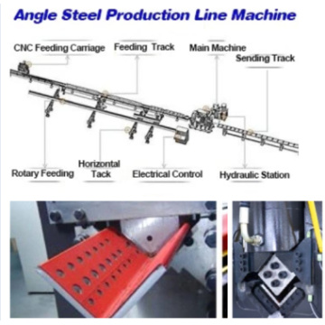 XT Sunshine Steel Angle Punching Machines