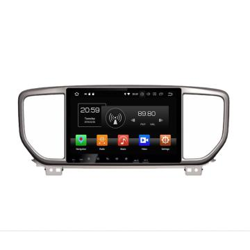 car double din dvd player for Sportage 2019