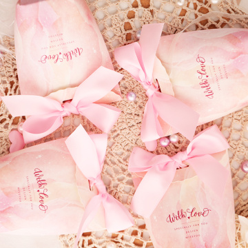Small pink fancy indian gift boxes