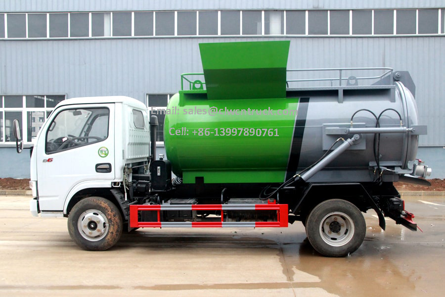 Liquid Waste Truck For Sale