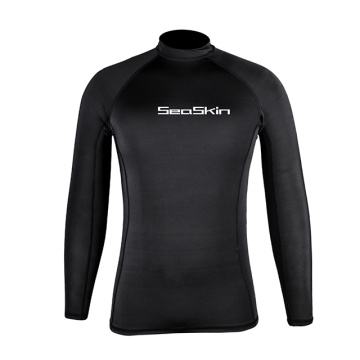 Seaskin UPF 50+ Lycra Mens Rash Vest