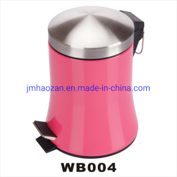 High Quality Stainless Steel Foot Pedal Skirt Trash Bin, Dustbin