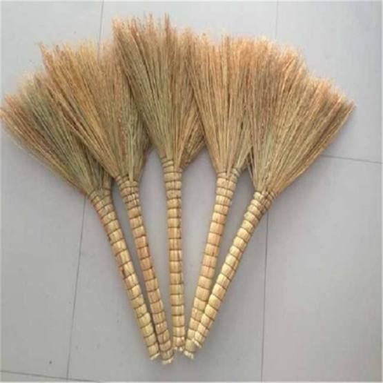 Bamboo Broom for Outdoor Use