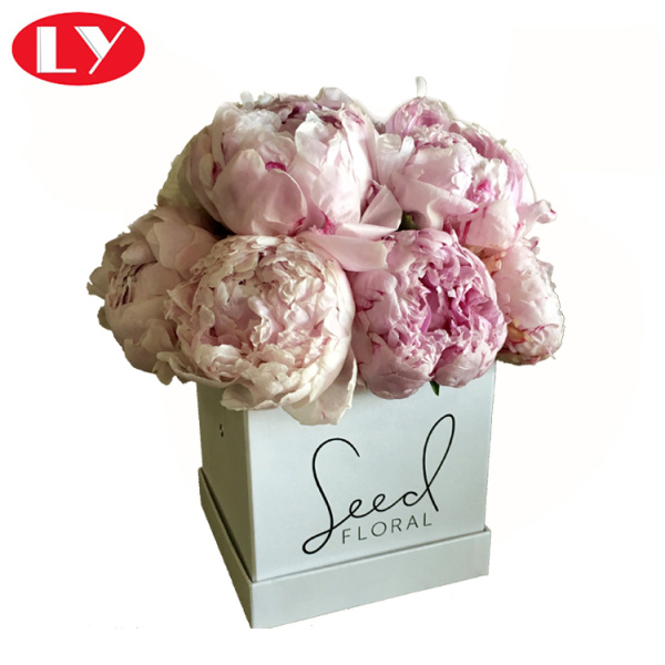 Cube Square Flower Gift Boxes with Lids