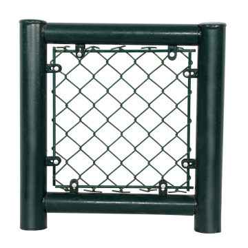 galvanized chain link mesh fencing cyclone fence
